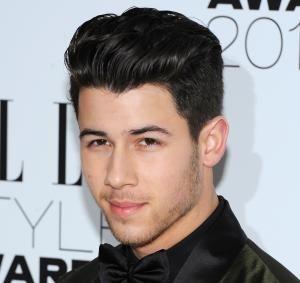 Nick Jonas Pompadour Haircut -
