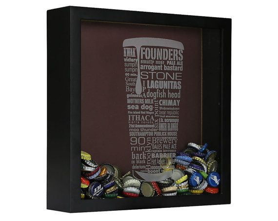 Beer cap shadow box... Need to find that image!