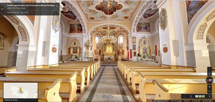 Wirtualny spacer po kościele pw. Podwyższenia Krzyża Świętego w Rumi. Zobacz ten kościół i dowiedz się trochę historycznych faktów.