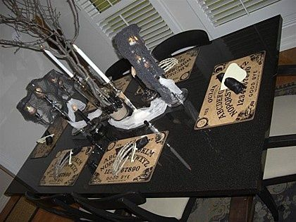 Ouija Board Placemats All Things Ouija Pinterest