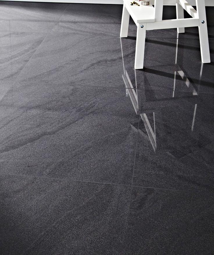 Sandwaves Charcoal Topps Tiles