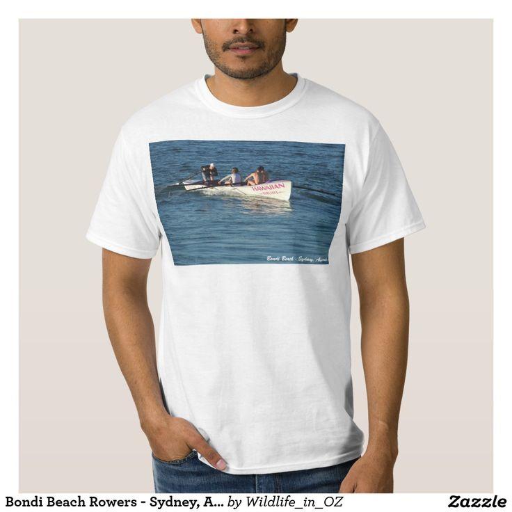 Bondi Beach Rowers - Sydney, Australia T Shirt Bondi Beach Australiana - Click on photo to view item then click on item to see how to purchase that item. #bondibeach #bondi #iconicbeach #sydney #australia #surf #sunrise #sand #surf #rowing