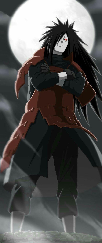 Madara Uchiha. The rockstar villain.