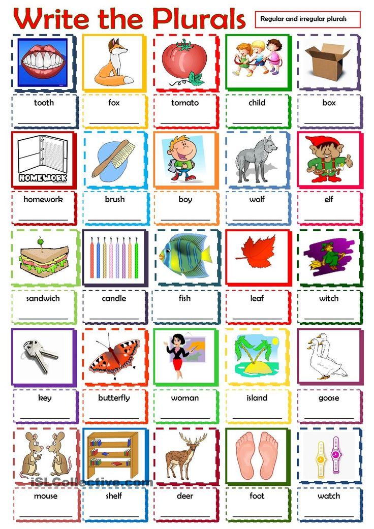Grammar Lessons - English Plurals (Plural Nouns)