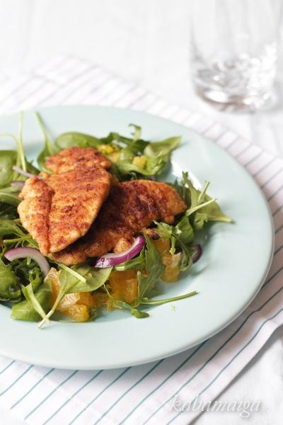 Cajun chicken salad | Food & Drink | Pinterest