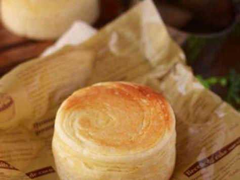簡単♪折り込みカスタードパンの画像