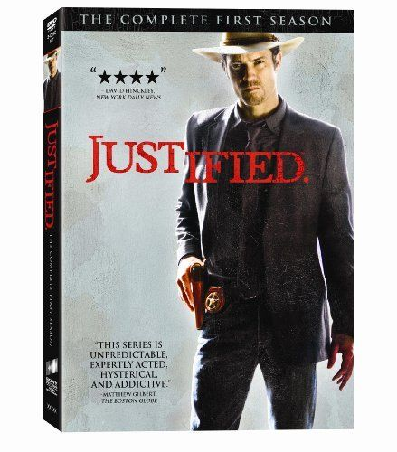 Justified: The Complete First Season DVD ~ Timothy Olyphant