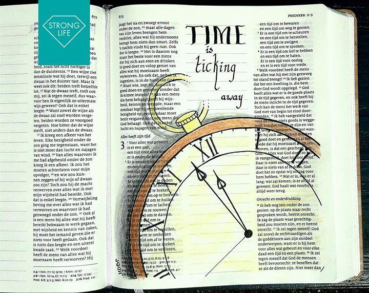 PREDIKER 3:1-15  ...[ Maar ] Hij heeft het zó gemaakt dat alles op zijn tijd goed is. Ook heeft Hij de mensen een besef van de eeuwigheid gegeven. Maar toch kunnen ze niets begrijpen van wat God vanaf het begin tot aan het einde heeft gedaan. PREDIKER 3:11 BB  #bijbeltekst #bijbelteksten