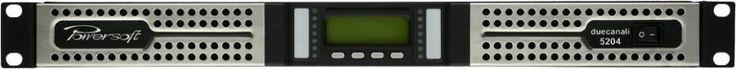 Amplificator Duecanali 5204 de putere 2800 W / 2ohmi, 2600 W / 4ohmi, 1400 W / 8 ohmi sau 2400 W / 100 V, dedicat sistemelor de sunet complexe pentru difuzare de muzica si voce/ anunturi, in spatii de mari dimensiuni precum hale industriale, hypermarket-uri, mall-uri. Detalii pe www.axialacustic.ro
