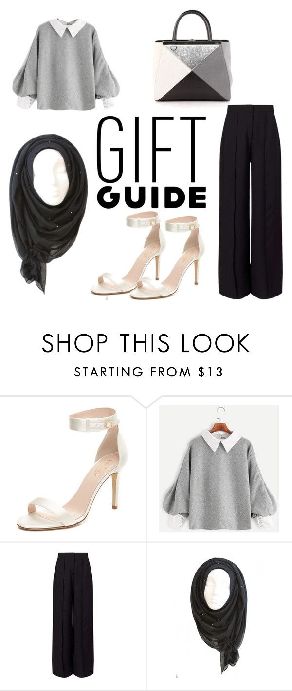 """guide"" by merlyana-dwi-hapsari on Polyvore featuring Kate Spade, Miss Selfridge and Fendi"