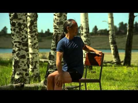 Rodney Yee: Yoga for Energy and Stress Relief - Chair Yoga - YouTube