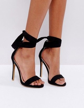 85e6974fca870 Coco Wren Barely There Sandals  peeptoe  sale  shoes  hot · Black High Heel  SandalsHigh Heeled ...