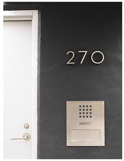 Because who says your house numbers have to look the same as everyone else's? – Home Updates That Cost Less Than $100