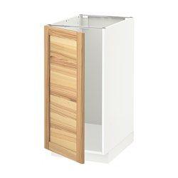 Szafki kuchenne stojące, wysokość obudowy 80 cm - System METOD