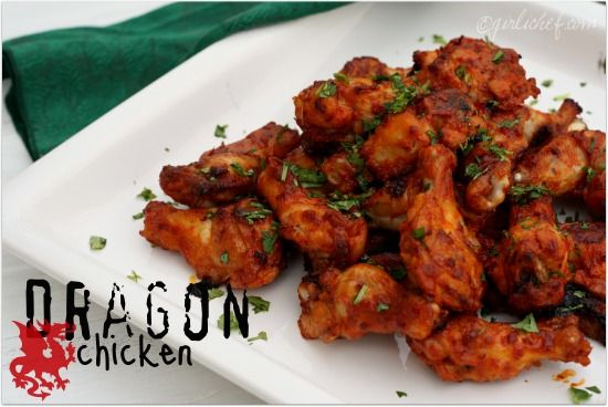 Actifry -- Dragon Chicken.  I would marinate the chicken and then make it in my Actifry.
