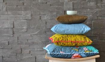 DIY Kissen in frischen leuchtenden Farben passend zum Frühling genäht von Zwirnguin