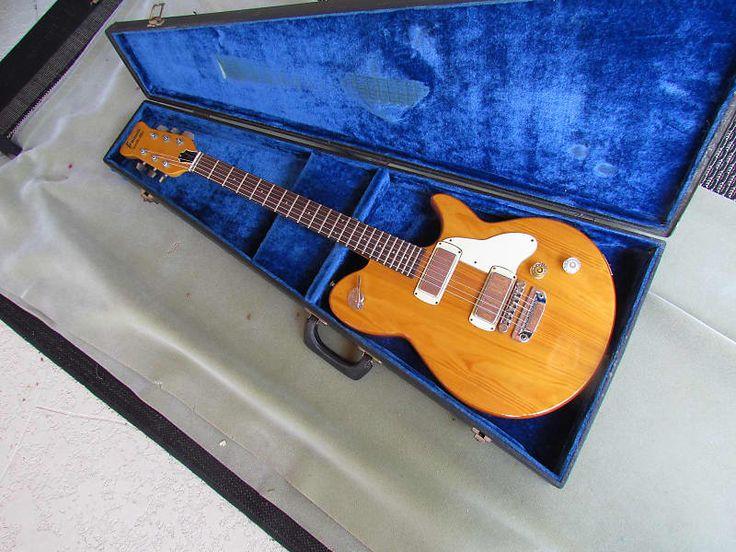 Framus Nashville Guitar Early 70's Made In Germany Framus