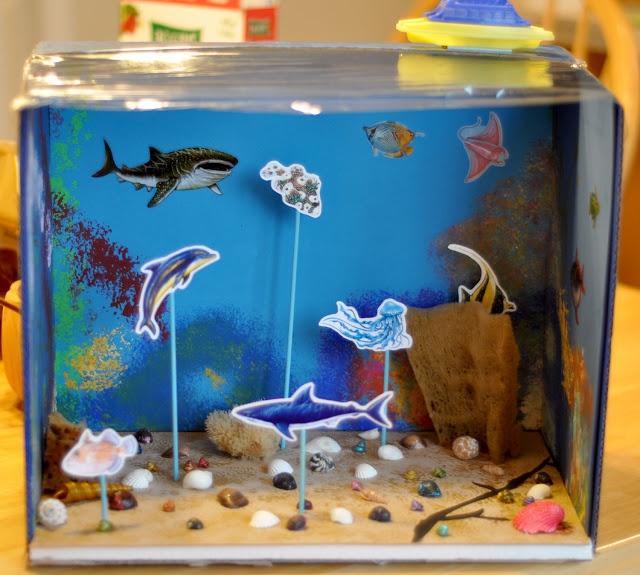 Under the sea diorama project