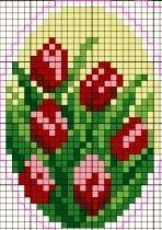 Easter egg - roses