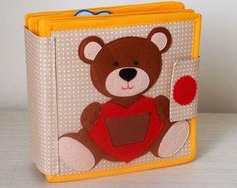 Ruhig Buch, Buch beschäftigt, Activity Book, sensorische Lernspielzeug für Kleinkind und Baby, Geschenk für Kinder (2-6 Jahre)