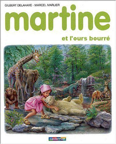 Martine et l'ours bourré