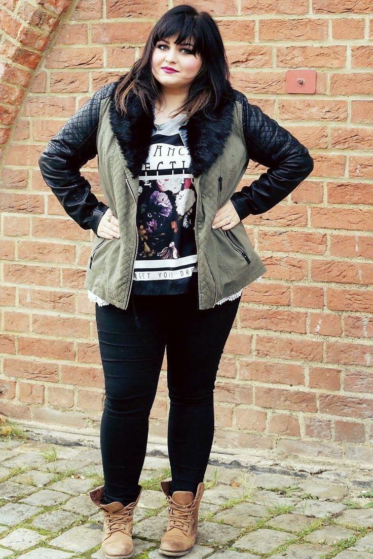 Plus Size Punk Clothing