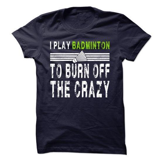 I Play Badminton - Limited tshirt