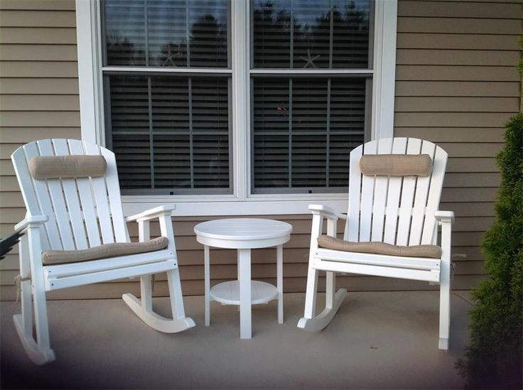 Amish Made Polywood Glider Bench