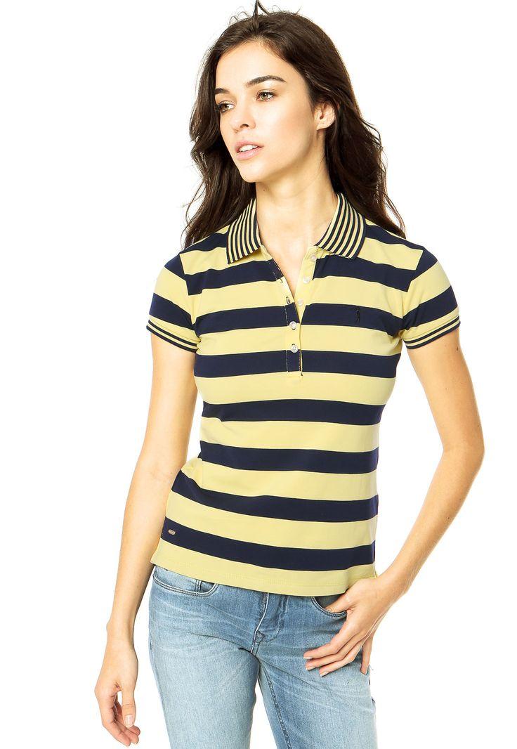 Camisa Polo Aleatory Amarela - Compre Agora   Dafiti Brasil