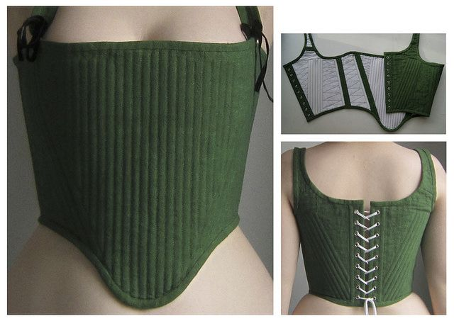 tudor corset phoebe roberts- this is also called a Pair of Bodies