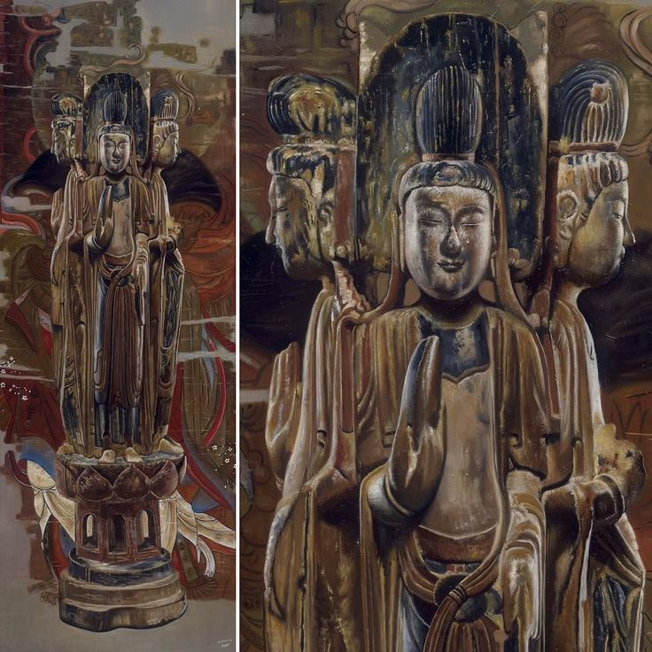Buddha oil painting. 56x160 cm (2017) 佛像系列油画 佛在灵山#buddhaimage #buddhasculpture #buddha #artcollection #oilpainting #Buddhism #oiloncanvas #religious #painting #artauction #artcollection #buddhist #chinesestyle #chinesepainter #painter #artgallery #artist #investinart #artappreciation #paintingoftheday #gallery #peace #mindandmeditation #miqiaoming #佛像 #米巧铭 #佛教