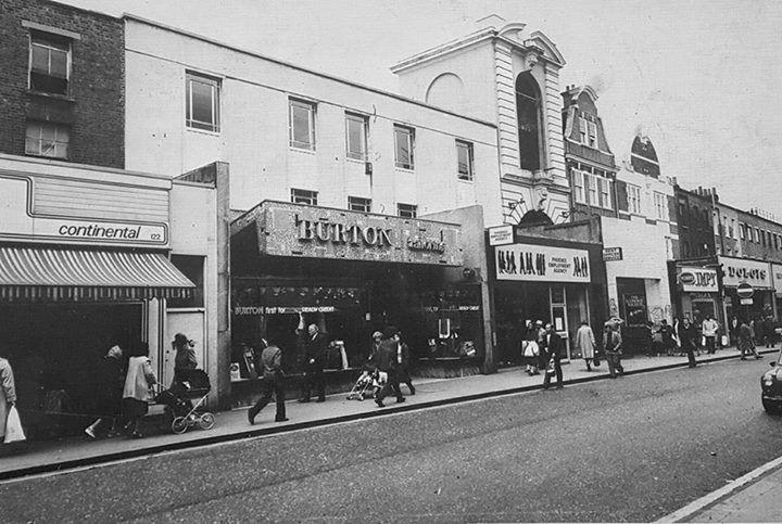 Rye Lane Peckham South East London England in 1981