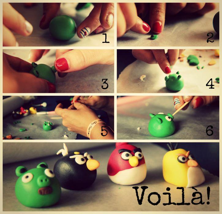 ¿Cómo crear al cerdito de #AngryBirds? Paso a paso by Chez Mua!   #Cupcakes #Reposteria #CaliCo #Patisserie