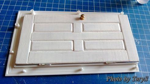 Miniature door tutorials.