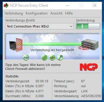 Weltweit erster IPsec VPN Client für Windows 10 verfügbar