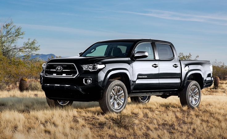 2017 Toyota Tacoma Limited Black Wallpaper #13281 - 2017 Cars Wallpaper