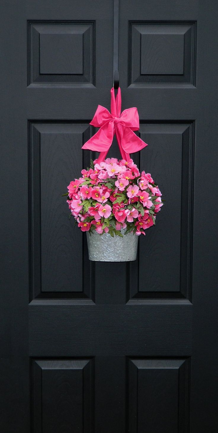 Valentine Wreath  - Spring  Wreath - Front Door Wreath -