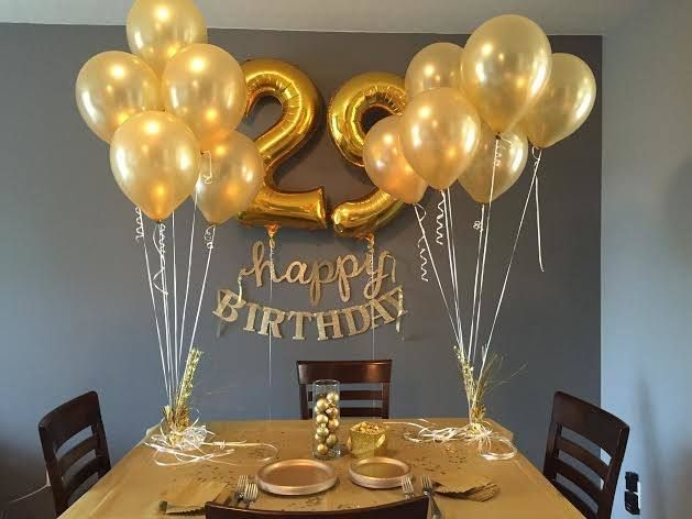 Golden Birthday Decoration Ideas Birthday Party Decorations For
