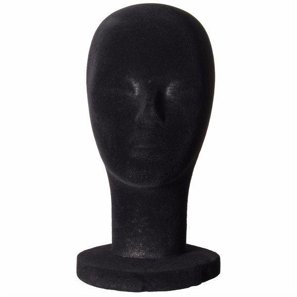 amazones gadgets shopifyl Foam Mannequin Head Black Velvet Styrofoam Wigs Display Model: Bid: 13,86€ (£12.17) Buynow Price 13,86€…...:…