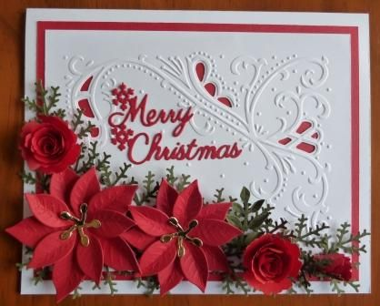 Handcrafted by Helen: Three Christmas Cards