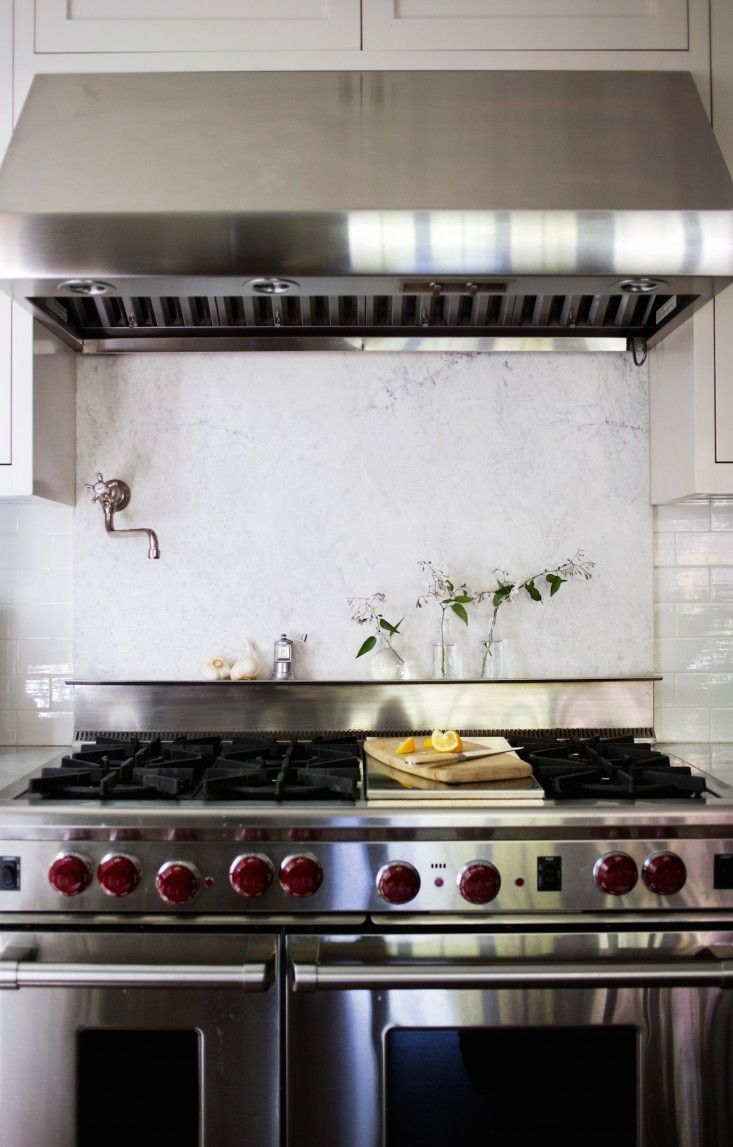 """I LOVED this narrative on used versus unused (magazine/pinterest) kitchens!  """"I was bent over the giant Wolf stove, retrieving a broiler pan from the side by side garage we call an oven."""""""