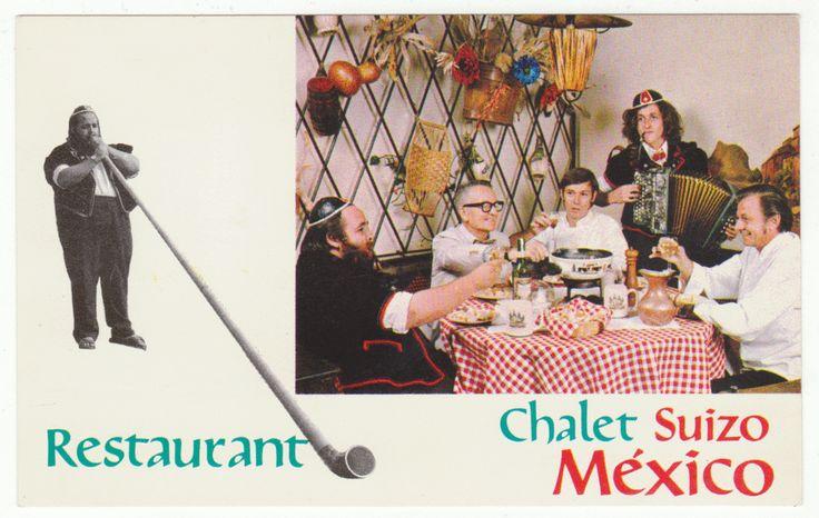 Postcards - Mexico #  690 - Chalet Suizo, Niza, Mexico