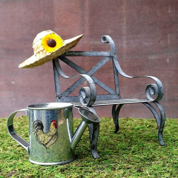 357 best Fairy Garden Furniture images on Pinterest Fairies