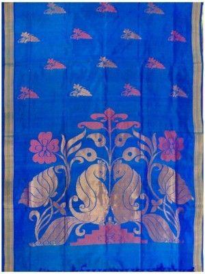 Saree - Venkatagiri jamdhani (uppada type) pure silk saree(s22/100) online shopping India   GoCoop   Sweet Couch