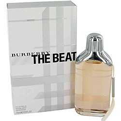 @Overstock - Fragrance was launched by Burberry, Britain's most fashionable brandThe Beat is classified as a hip floral/woody scent with English attitudeWomen's scent possesses a blend of floral notes of iris, bergamot and bluebellhttp://www.overstock.com/Health-Beauty/Burberry-The-Beat-Womens-2.5-ounce-Eau-de-Parfum-Spray/4255533/product.html?CID=214117 $46.67