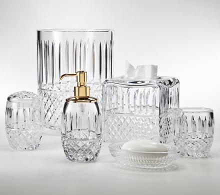 7 best sparkling crystal bath accessories images on. Black Bedroom Furniture Sets. Home Design Ideas