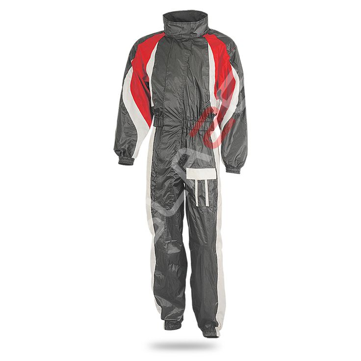 Aqua-RadiumIII ART No # 4920-103 Description  1-piece rain suit  Outer shell • pvc-coated fabric (100% polyester)  Features • elasticated waist • easy-on diagonal labyrinth zip • zip & velcro at ankles • waist belt • arm adjustment • width adjustment at back • integrated hood