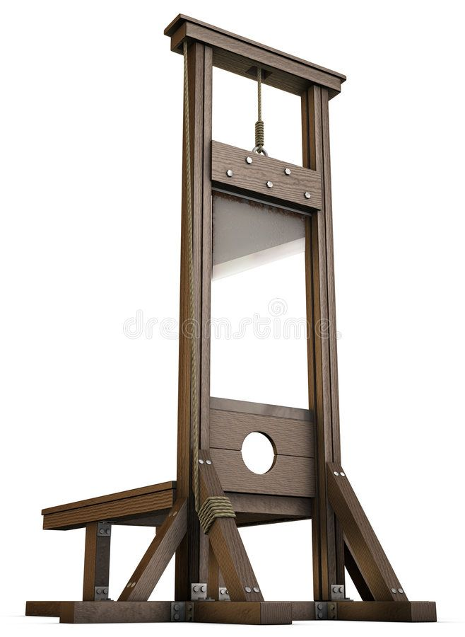 Guillotine. An Empty Guillotine rendered from the ground over a white  background , #Sponsored, #rendered, #Empty,… | Execution, Modern  metropolis, French revolution