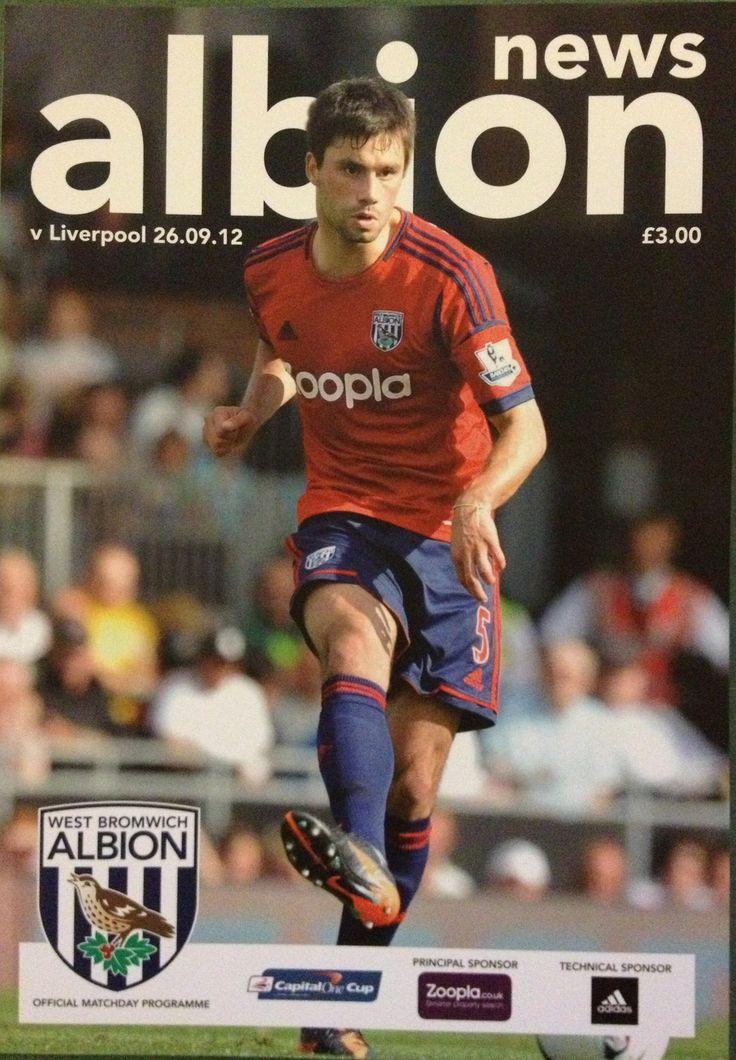26/9/2012 West Brom v Liverpool Liverpool, Football