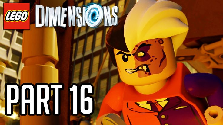 LEGO Dimensions Walkthrough Part 16 - TWO FACE BOSS!! (Gameplay PS4/XB1/...